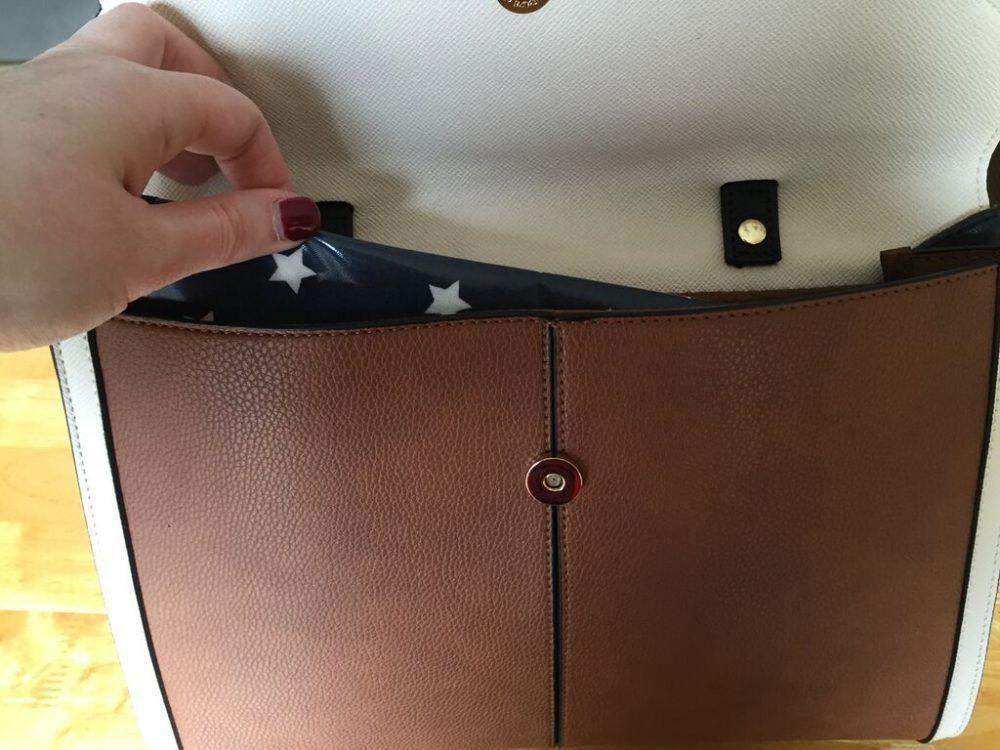 Handbag sized