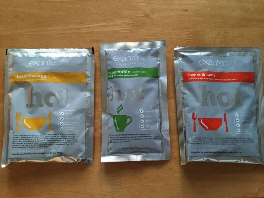 Exante Meal Replacement Diet Plan Review