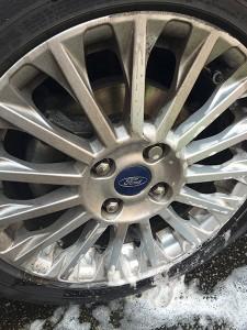 Dirty wheels vs clean wheels
