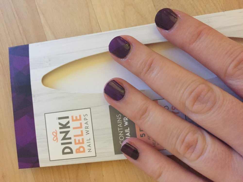 Decorative nails with dinkibelle nail wraps for Decorative nails