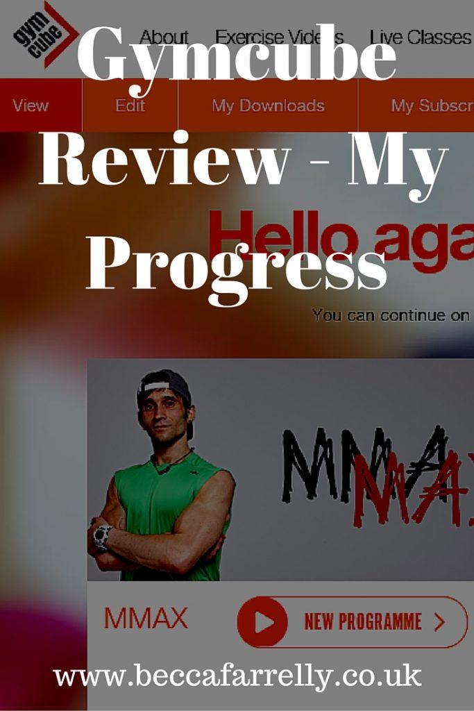 Gymcube Online Workout Progress