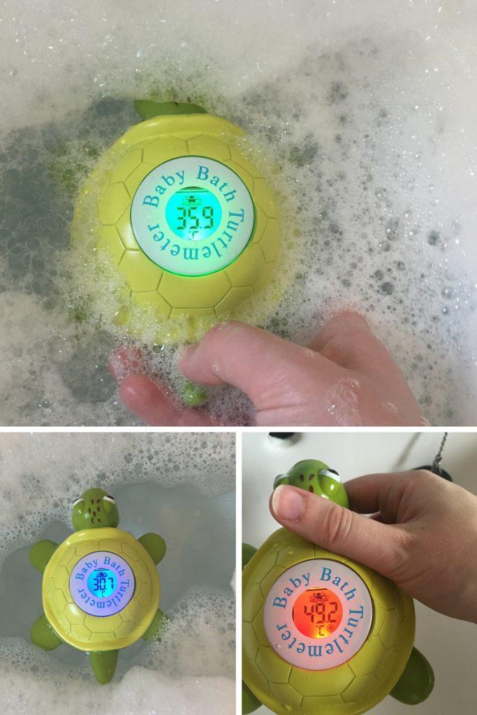 Turtlemeter Bath Thermometer Temperatures