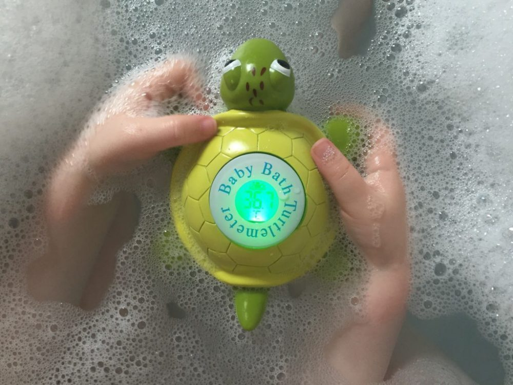 Turtlemeter Bath Thermometer Green