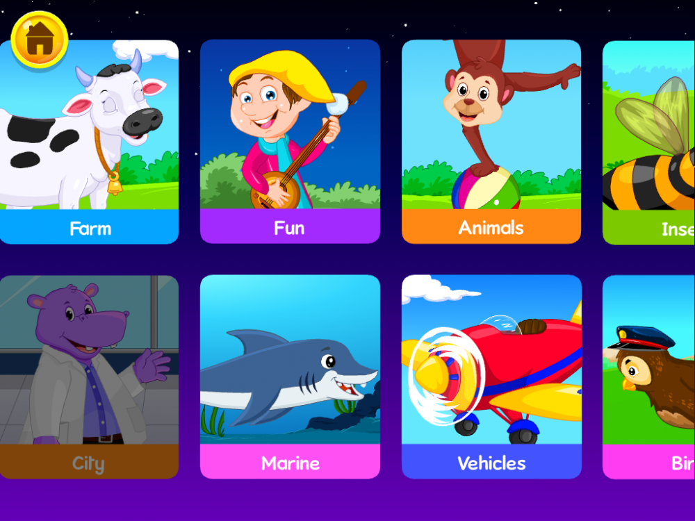 KidloLand Children's App