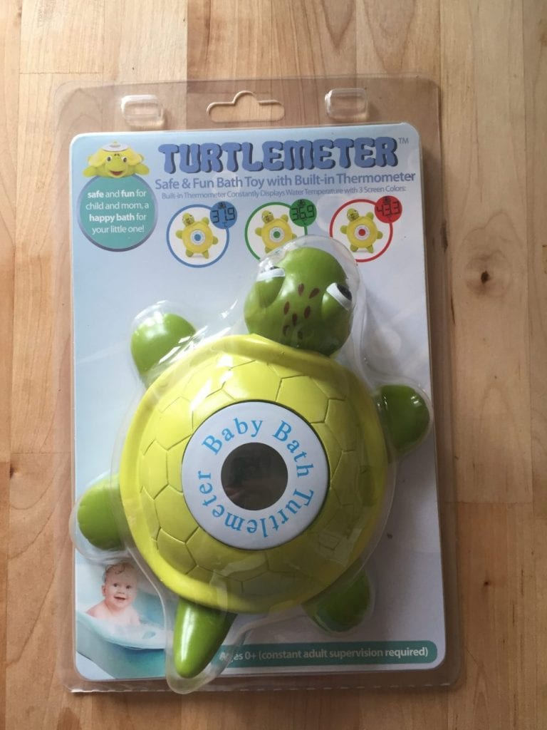 Turtlemeter Bath Thermometer Packaged