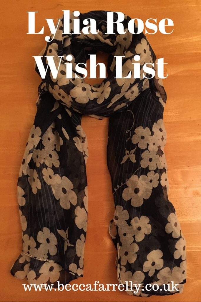 LyliaRose.com Wish List