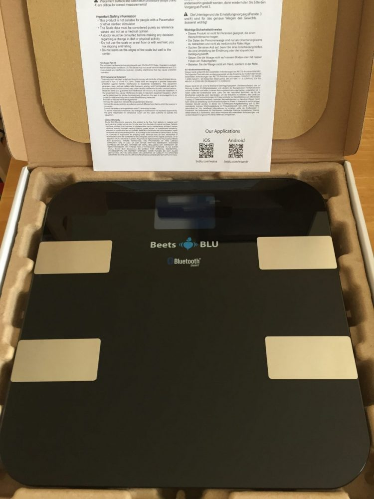 Beets Blu Bluetooth Smart Scales Review