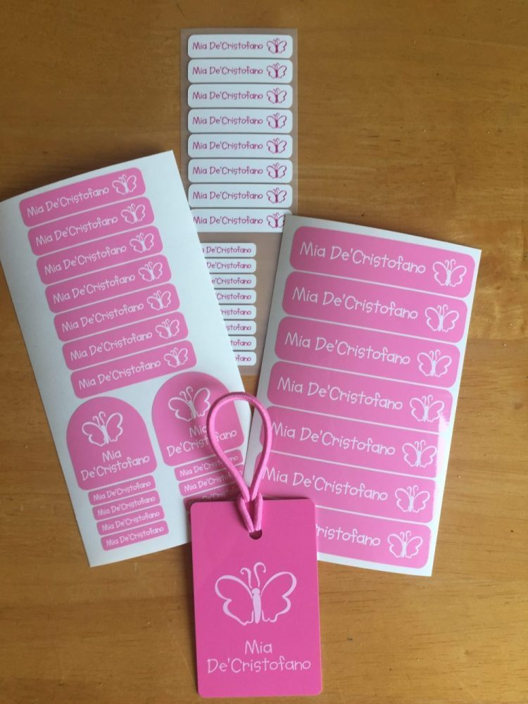 Personalised Name labels With 'My Name Label'