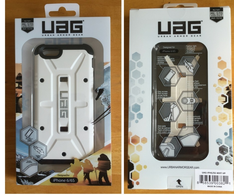 UAG Phone Case Package