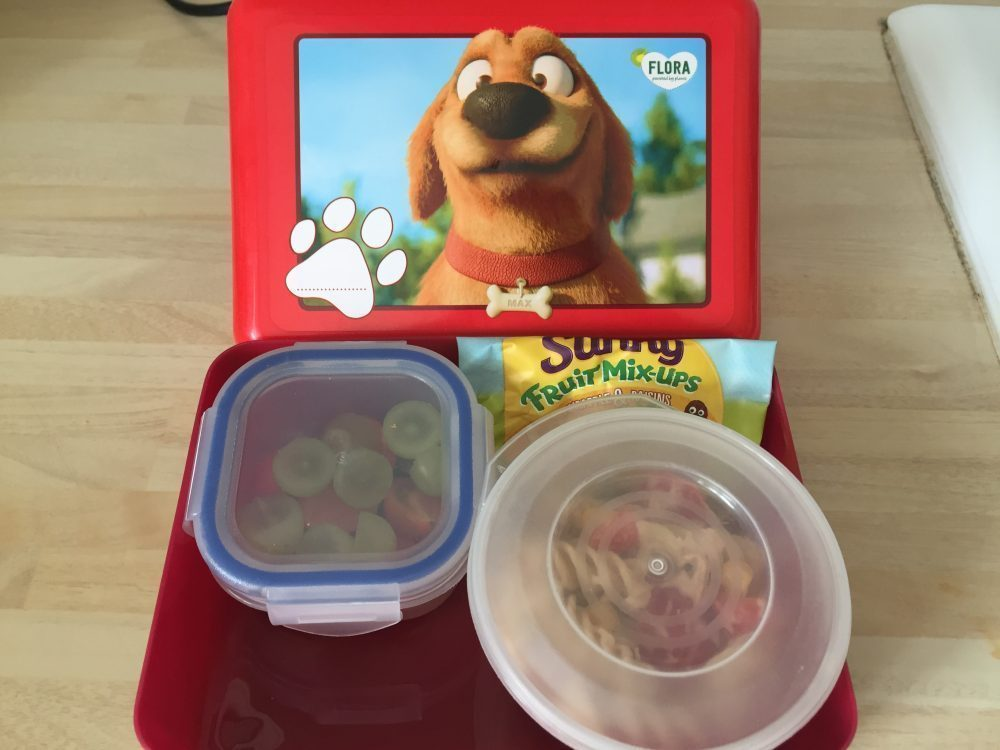 We Took On The Flora Lunchbox Challenge This Week!