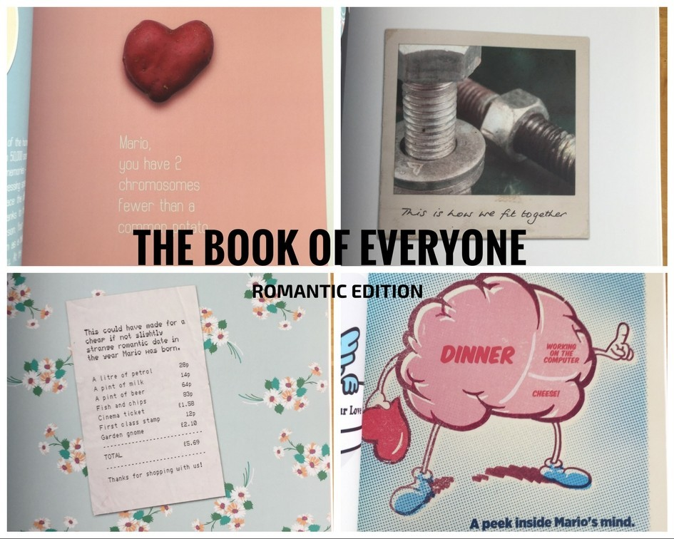 Inside personalised book