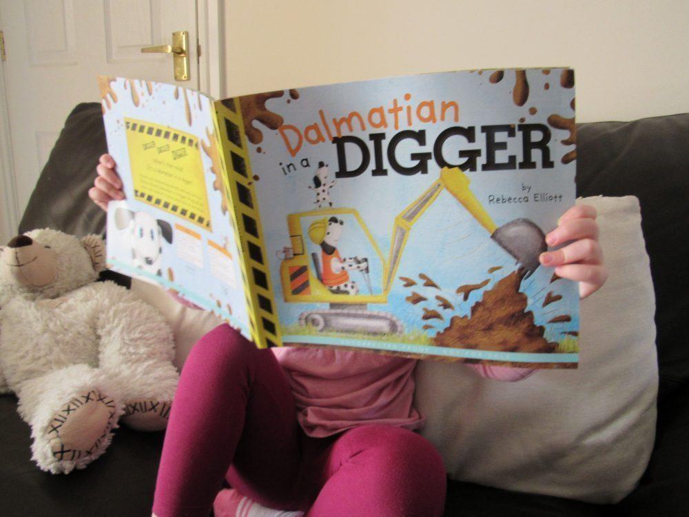 Curious Fox Dalmatian in a DIGGER Book Review