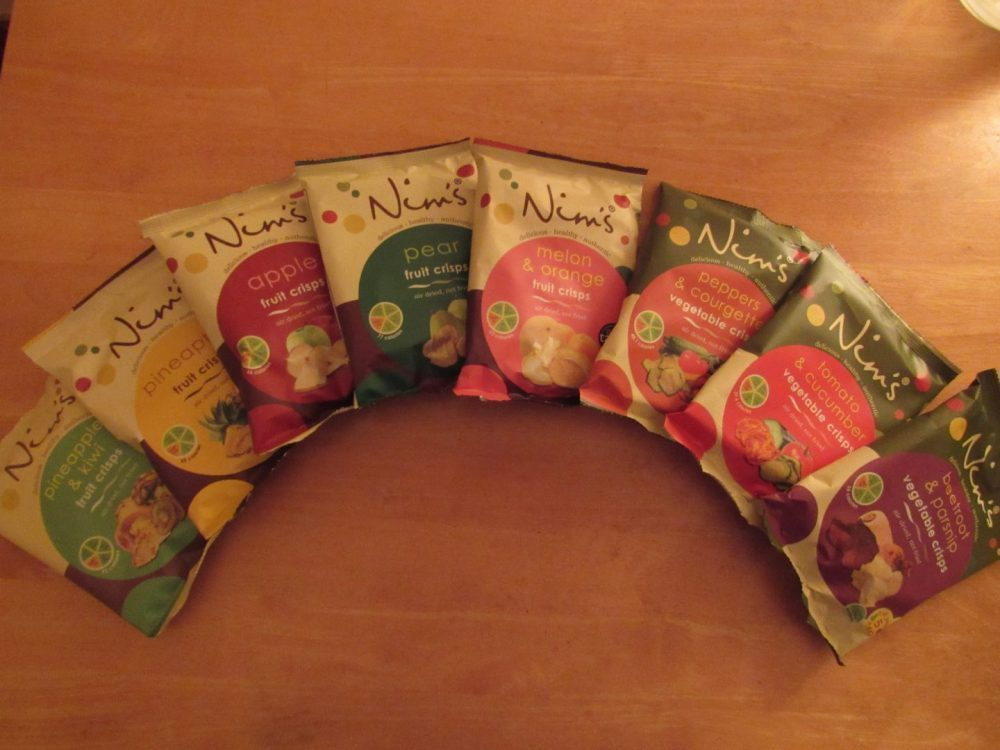 Nim's Fruit Crisps Review