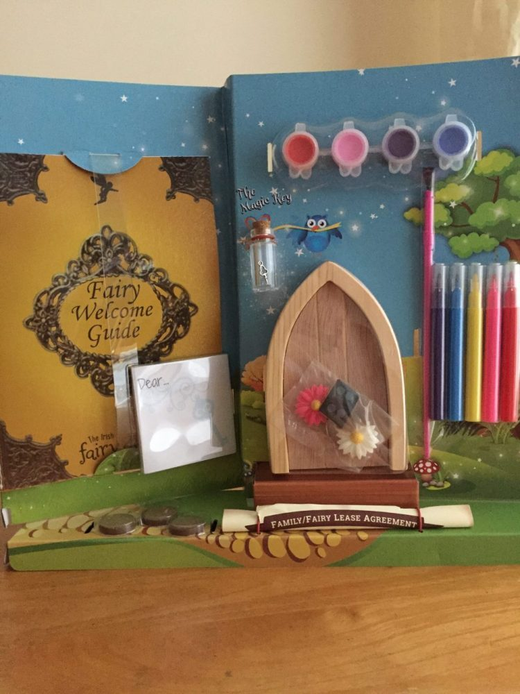 Paint your own irish fairy door review for Irish fairy door ideas