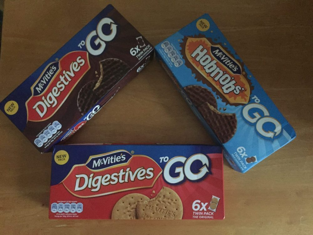 McVitie's 'To Go' Biscuits Range Review