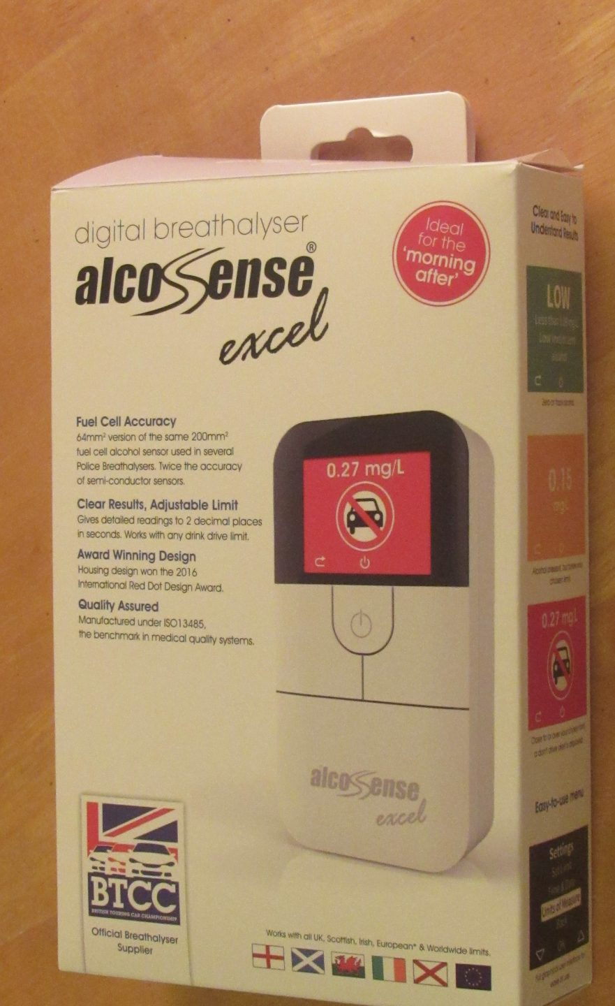 AlcoSense Excel Home Breathalyser Review