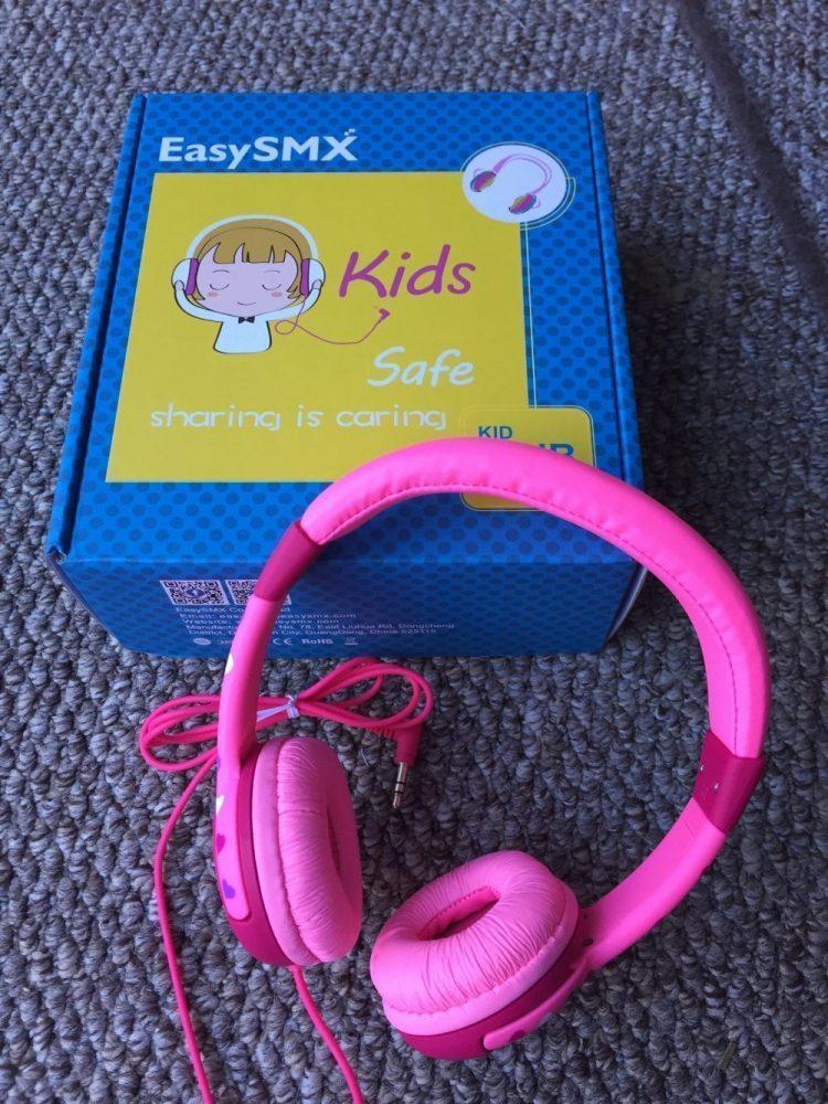 Headphones and Box