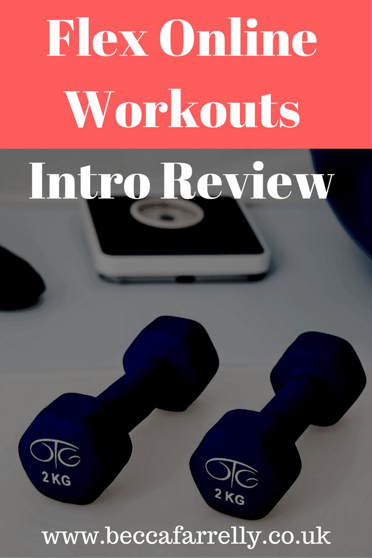 Flex Online Workouts
