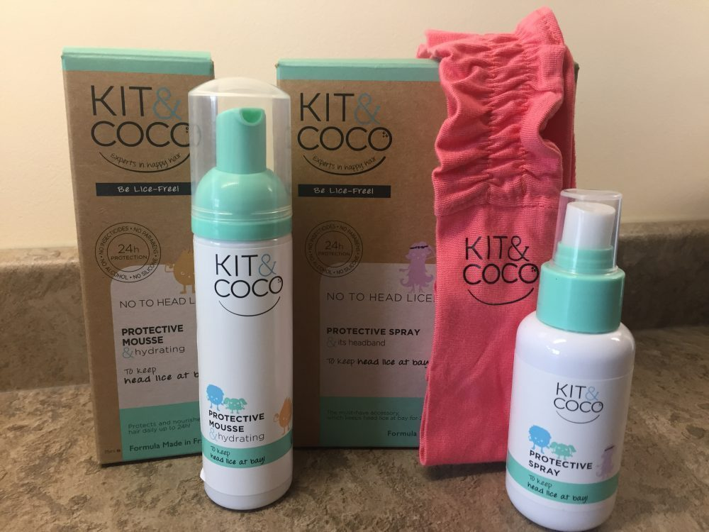 Preventing Head Lice with Kit&Coco
