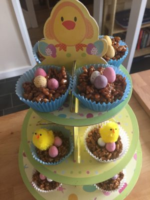 Chocolate Easter Cakes