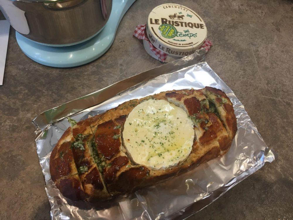 Baked Camembert Loaf