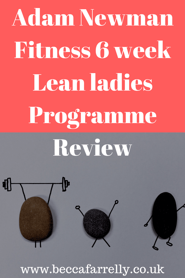 6 week Lean ladies