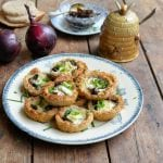 Le-Rustique-Brie-de-Caractère-Tartlets-with-Honey-Onion-Relish-1