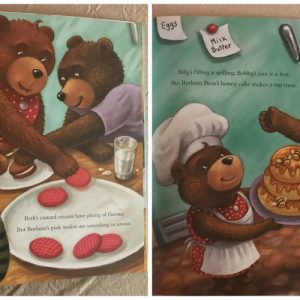 Bear Cub Bakers Book and Creating Our Own Delicious Cupcakes!