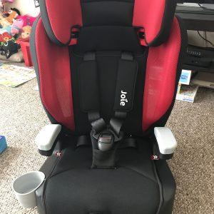 Joie Elevate Car Seat Headrest Adjuster Demo Vlog