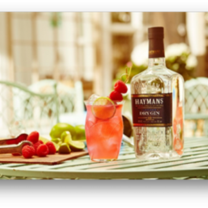 Hayman's English Ruby Fizz Cocktail