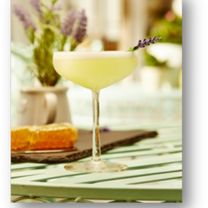 Hayman's Lavender Lady Cocktail