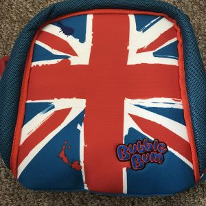 BubbleBum Union Jack Booster Seat – Perfect for Kids Travel