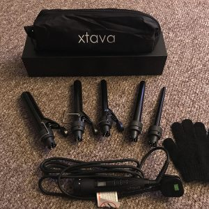 Rediscovering my Hair with the Xtava 5 in 1 Curling Wand