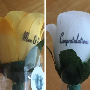 Personalized Printed Flowers Review