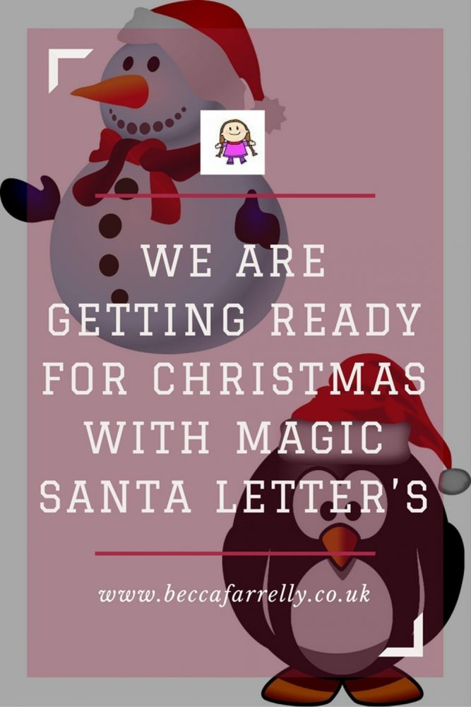 We are getting ready for christmas with magic santa letters we are getting ready for christmas with magic santa letters m4hsunfo