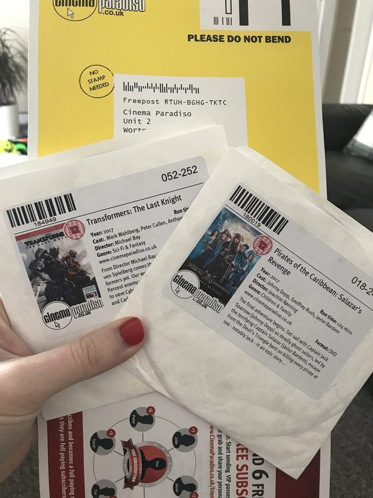 Going Old-School with Cinema Paradiso DVD Rentals