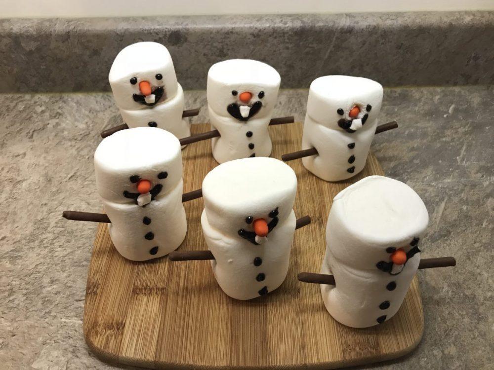 Marshmallow Olaf the Snowmen