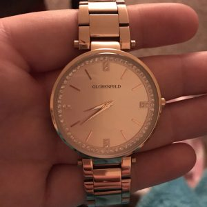 Keeping Time with the Globenfeld Rose Gold Ladies Watch