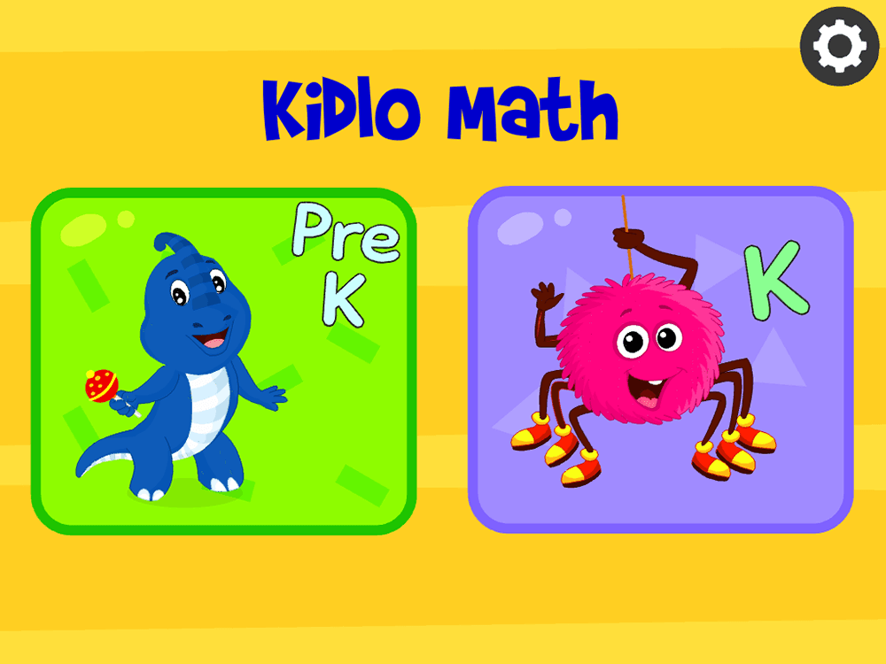 Supporting School Learning with the Kidlomath App