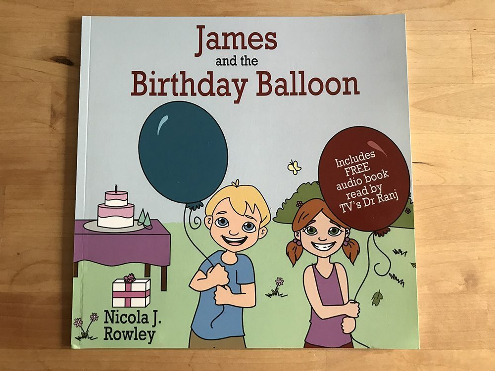 James and the Birthday Balloon Book Review