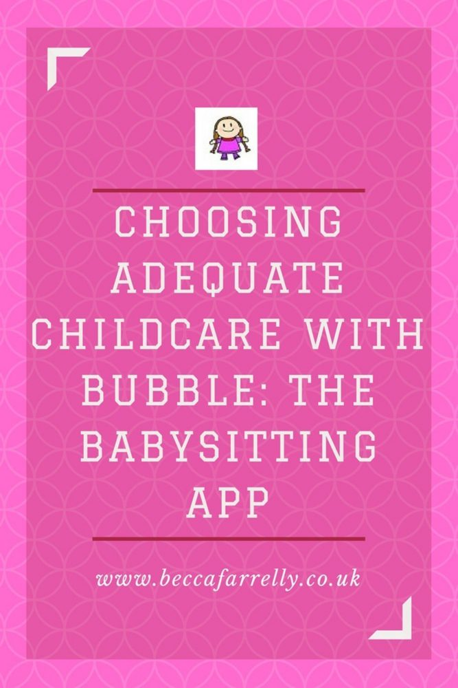 Childcare with Bubble