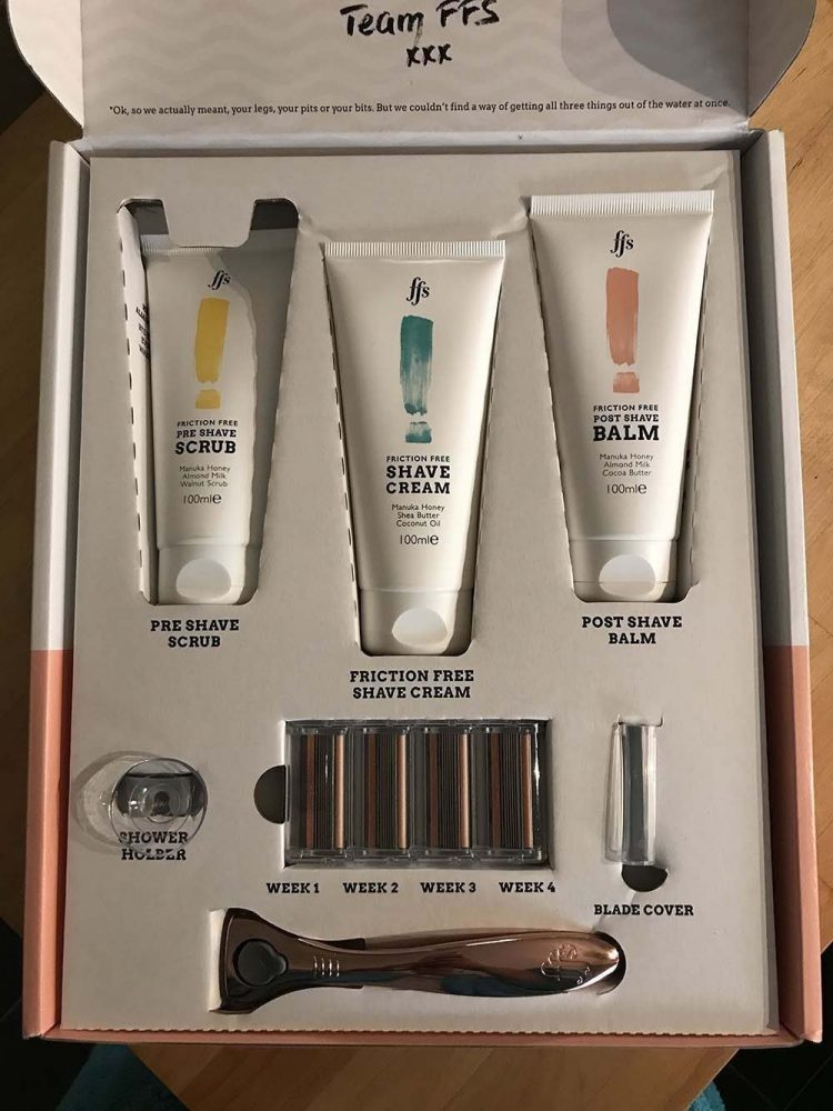 shaving subscription service