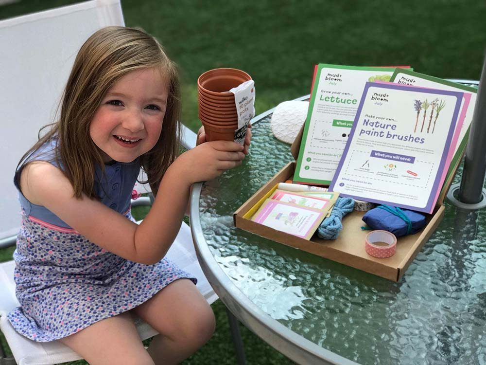 Getting Children Involved in Nature with Mud and Bloom