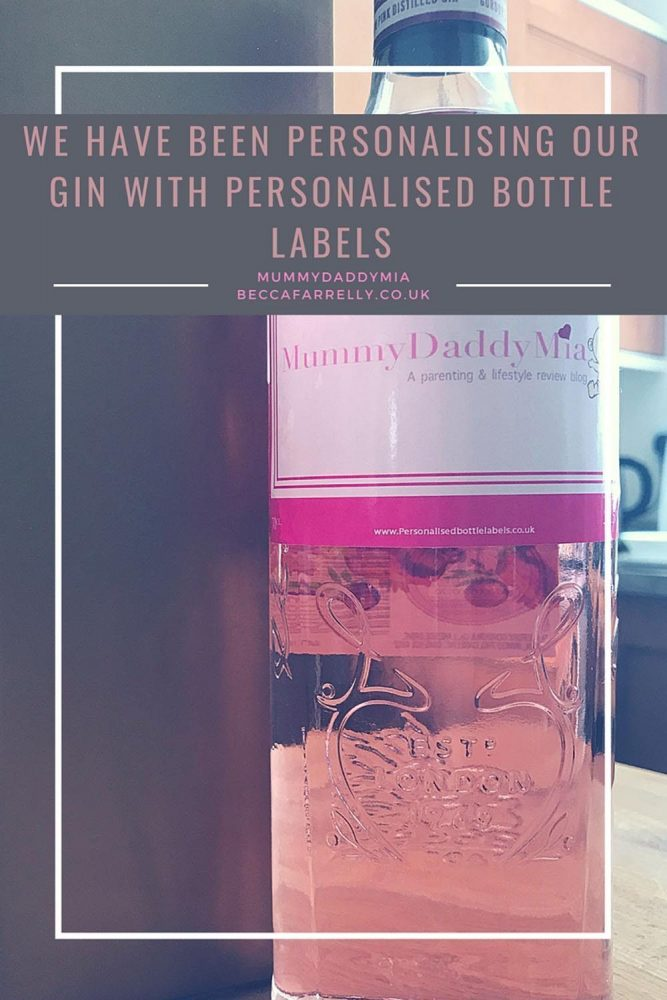 Personalising Our Gin