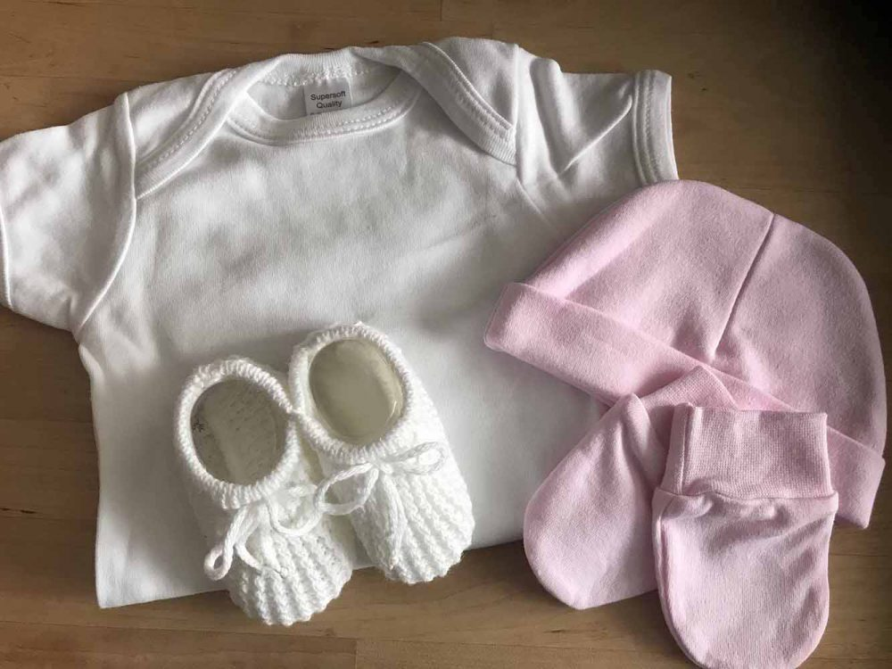 BabyGro, Booties, Hat and Mittens