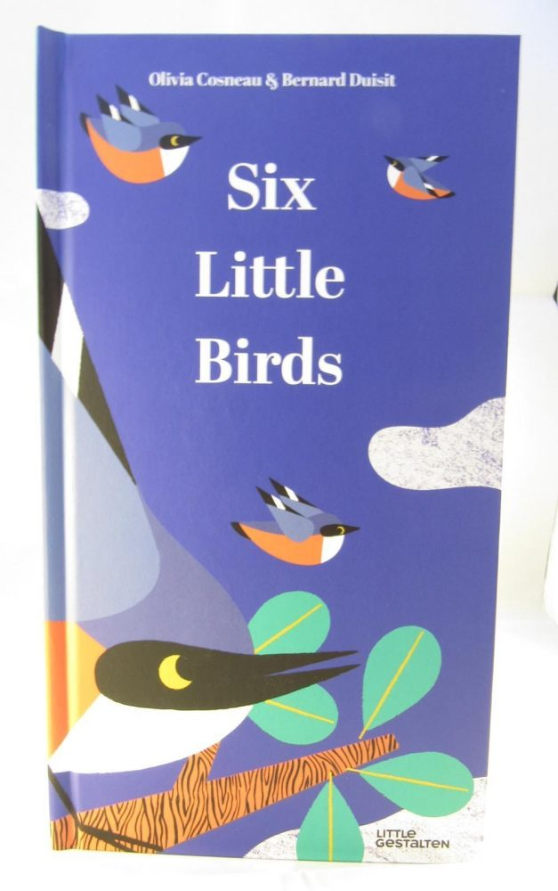 front cover of the six little birds book
