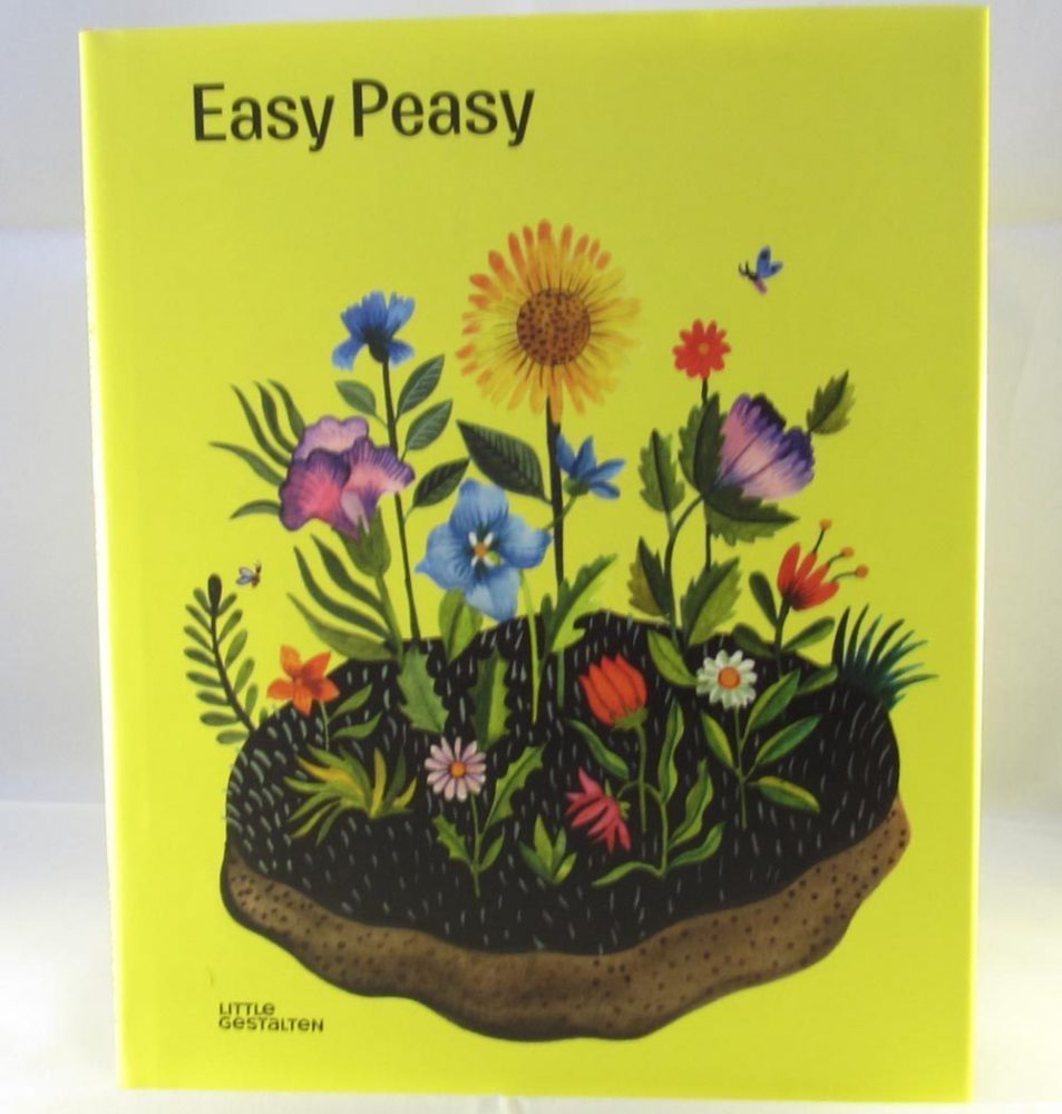 Front cover of the Easy Peasy gardening for kids book