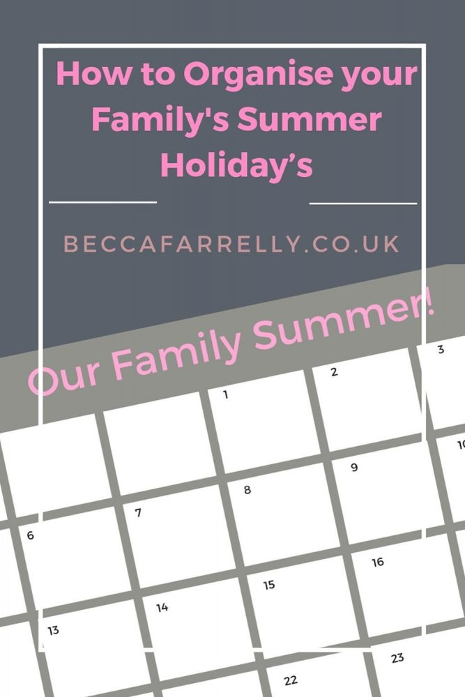 Cover image for summer holiday post
